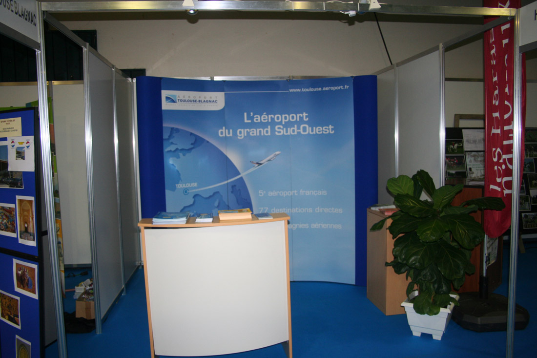 Sicre v nements salon foire exposition for Exemple de stand